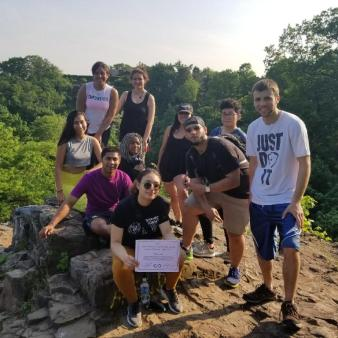 INSPIMIND Mills Reservation Hike on May 29, 2018