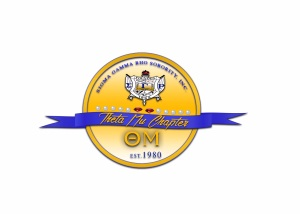 Theta Mu Chapter Crest - Sigma Gamma Rho Sorority Inc. NPHC Divine Nine D9 Rowan University SGRho