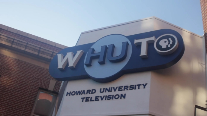 Briana M. Andrews - MFA Student - Howard University - Scenic Shot - WHUT TV