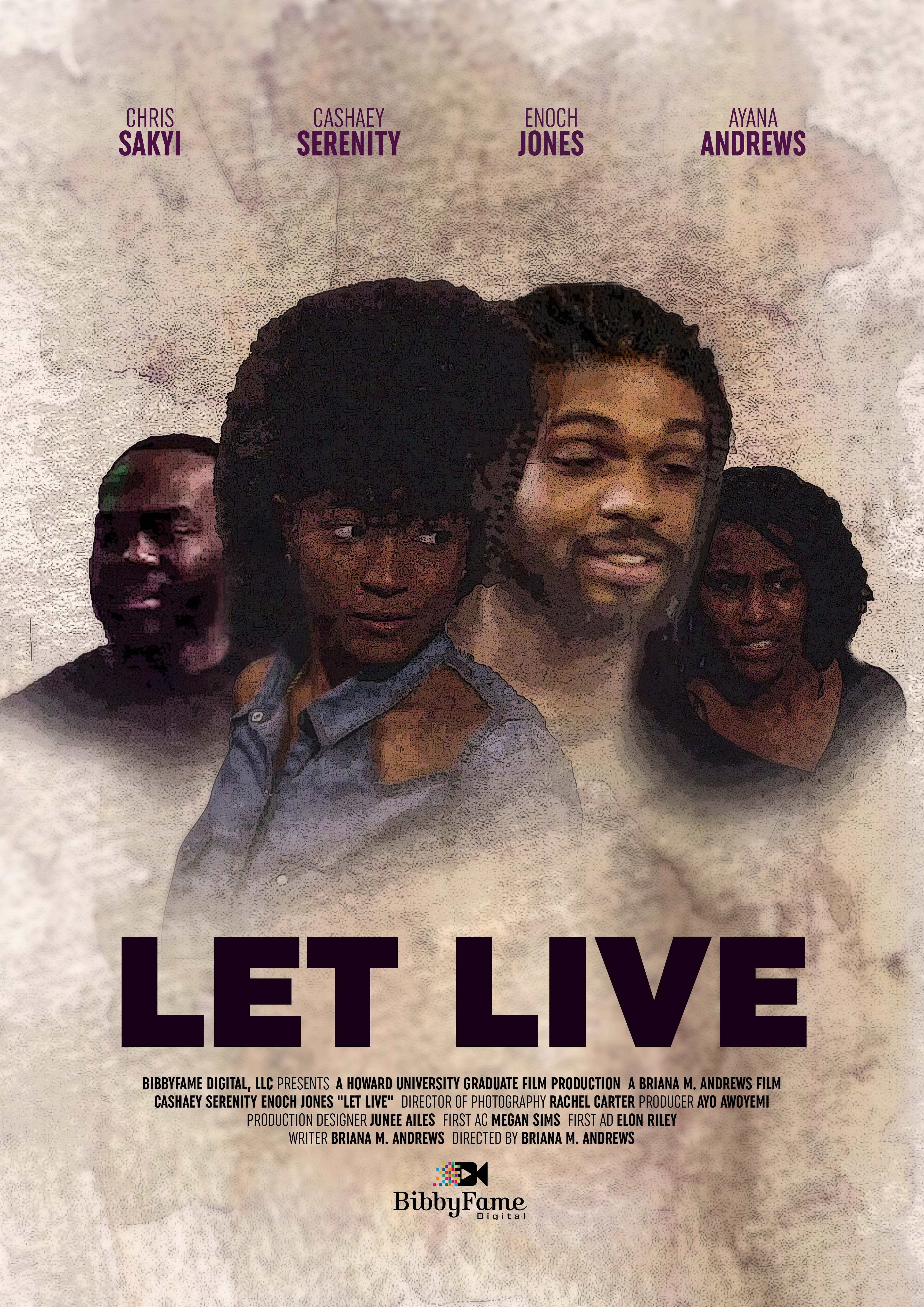 Let Live - Movie Poster reduced size